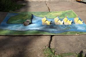 Das hässliche Entlein, Origami Pop-up, 2010