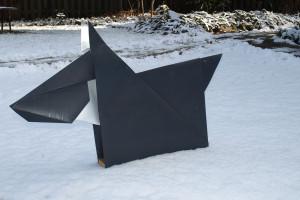 Hund, Tetrapackfolie, 2014