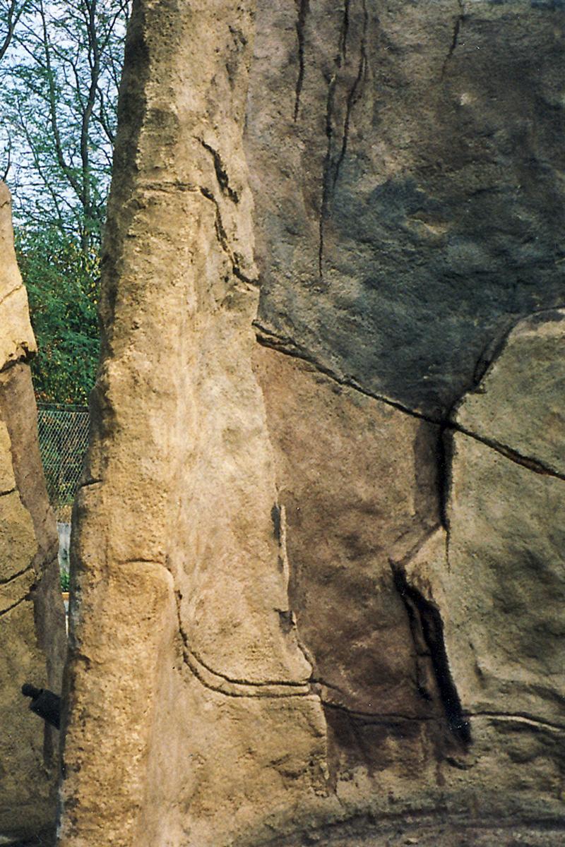Boulderfelsen für Parcouranlage, 2014