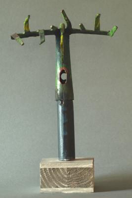Christuskopf, Metallteile, 2008