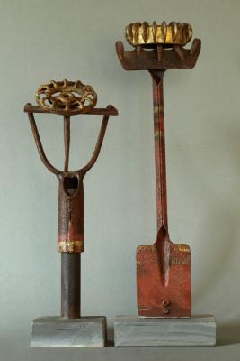 Königspaar, Metallteile, 2003