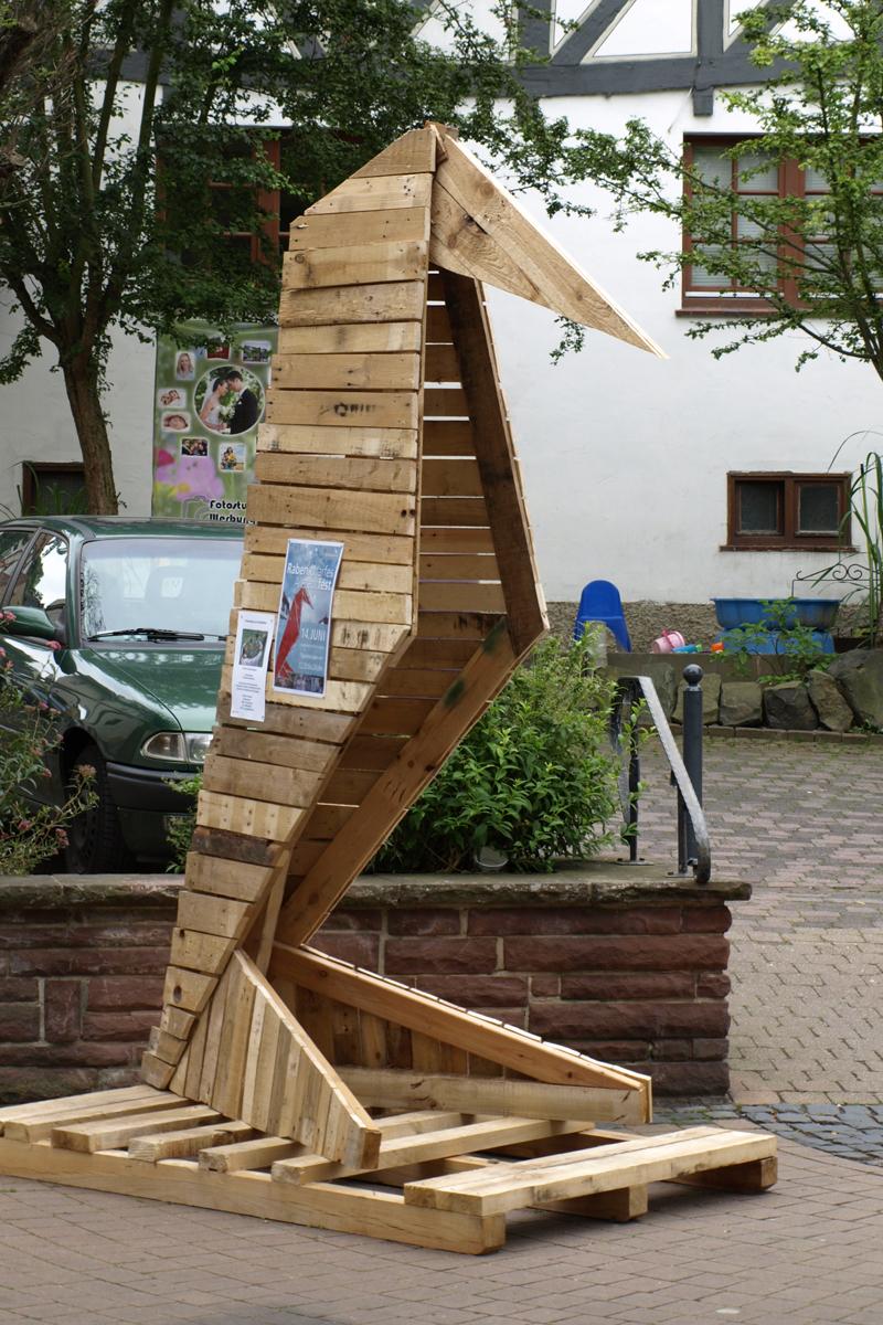 Upcycling-und Streetartaktion Gudensberg 2014