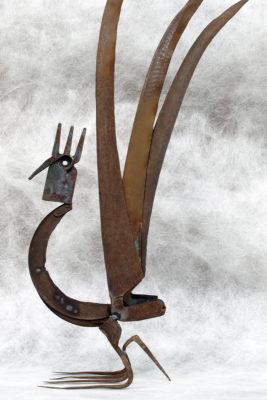 Hahn, Metallteile, 2012
