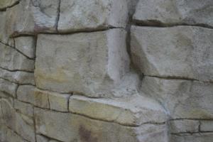 Großblockmauer